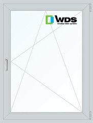 Окно ПВХ Окно ПВХ WDS 900*1200 2К-СП, 5К-П, П/О