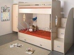 Двухъярусная кровать Олмеко Д1