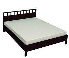 Кровать Кровать Глазовская мебельная фабрика Sherlock 46 Люкс (1800) орех шоколадный