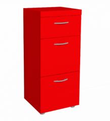 Комод Комод Глазовская мебельная фабрика 1 Проект 17 (красный)