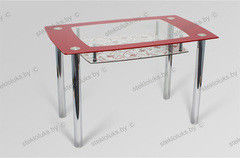 Обеденный стол Обеденный стол Стеклолюкс С 28-11 Франческа