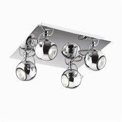 Настенно-потолочный светильник Ideal Lux LUNARE PL4 CROMO