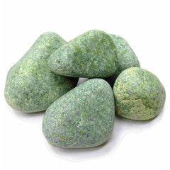 Комплектующие для печей и каминов noname Жадеит шлифованный (20 кг)