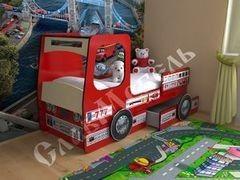 Детская кровать Детская кровать СлавМебель Пожарная машина 1600/1900