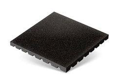 """Резиновая плитка Rubtex Плитка """"Грунт"""" 500x500 (толщина 40 мм, черная)"""