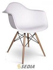 Кухонный стул Кухонное кресло Sedia Kord Arm PP (белый)