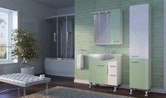 Зеленая мебель для ванной Ювента Francheska 75 Салатовый