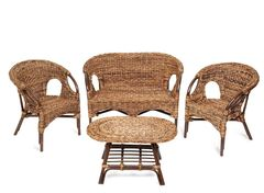 Комплект мебели из ротанга Мир ротанга Mandalena (софа, 2 кресла и стол)