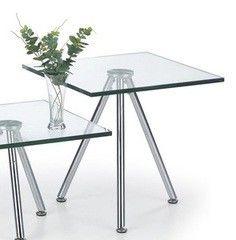 Журнальный столик Halmar Solo 2 прозрачный