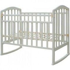 Детская кровать Кроватка Антел Алита-2 (белый)