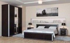 Спальня Мебель-Неман Наоми (вариант комплектации 3)
