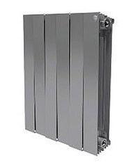 Радиатор отопления Радиатор отопления Royal Thermo PianoForte 500/Silver Satin (4 секции)