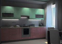 Кухня Кухня Алфексгрупп №14 (Крашенный МДФ)