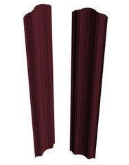 Забор Забор Скайпрофиль Штакетник M-112 рифленый односторонний Пэ глянцевый RAL3005