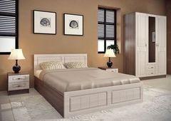 Спальня Настоящая мебель Ницца №3 ясень