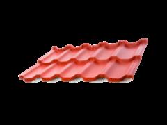 Металлочерепица Металлочерепица АрсеналМеталл Этерна 0.5 мм RAL9003 глянцевый