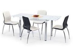 Обеденный стол Обеденный стол Halmar L-31 (белый)