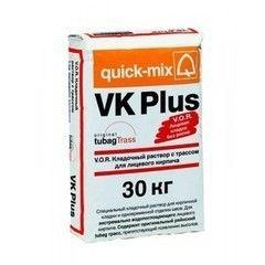 Сухая кладочная смесь Сухая кладочная смесь Quick-Mix VK Plus