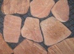 Натуральный камень Натуральный камень Мистер Плиткин Песчаник терракотово-красный