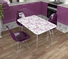 Обеденный стол Обеденный стол Дисави Флора (1015x730x690)