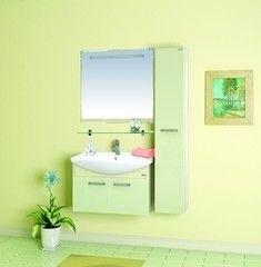 Зеленая мебель для ванной MISTY Джулия 65 подвесная