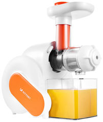 Соковыжималка Соковыжималка KITFORT КТ-1110-2 white/orange