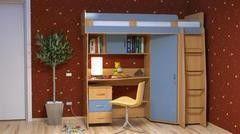 Детская комната Детская комната The Мебель Пример 52