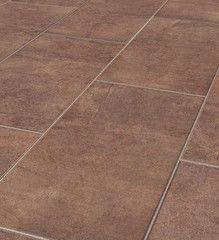 Ламинат Ламинат под плитку Kronoflooring Castello XL Stoneline 8614 Плитка Мокка
