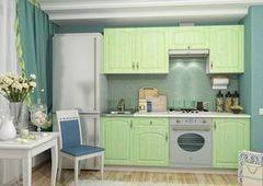 Кухня Кухня ДСВ Мебель Монако фисташка 2.1