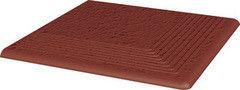 Клинкерная плитка Клинкерная плитка Ceramika Paradyz Natural Rosa Duro ступень рельефная угловая 30x30