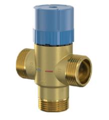 Комплектующие для систем водоснабжения и отопления Meibes Термостатический смесительный клапан Flamcomix 45-65 FS DN25 (28772)