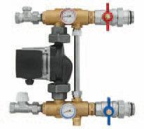 Комплектующие для систем водоснабжения и отопления KAN-therm Насосная группа K-803000