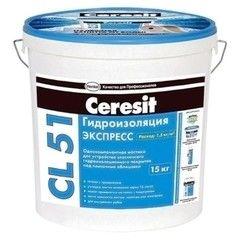 Гидроизоляция Гидроизоляция Ceresit CL 51 (15 кг)