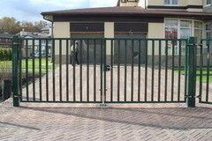 Белит Ворота на металлокаркасе Вариант 14