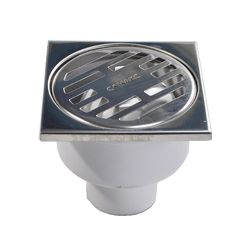 Водоотвод для ванной комнаты Санакс Душевой трап вертикальный (00014) 100x100
