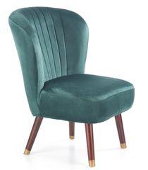 Кресло Halmar Lanister (темно-зеленый)