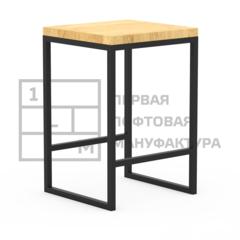 Барный стул Барный стул 1Loft S-0109 (Сосновый щит)