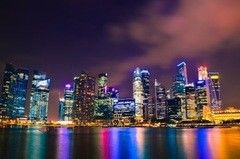 Фотообои Фотообои Vimala Ночь в Сингапуре