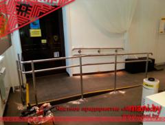 Элементы ограждений и лестниц Мани Фест поручни из нержавеющей стали