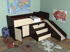 Двухъярусная кровать СлавМебель Кузя