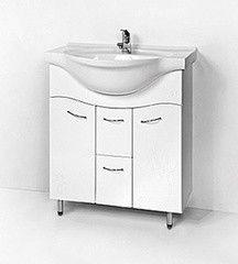 Мебель для ванной комнаты Акваль Тумба с умывальником Реджина 75