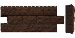 Фасадная панель FineBer Дачный Доломит (коричневый)