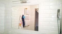 Мебель для ванной комнаты Valtera настенное серебро 4 мм, обработка фацет