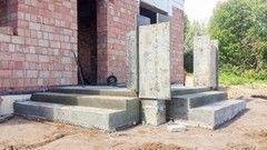 Лестница из бетона Монолит Пример 59
