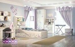 Детская комната Детская комната Сканд Мебель Леди