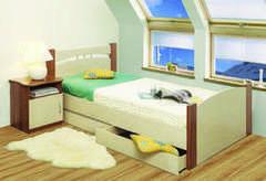 Детская кровать Детская кровать 1-Transformer 900 Универсальная (с ящиками)