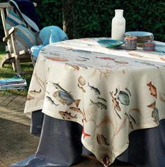Tessitura Toscana Скатерть La Mer 170x270