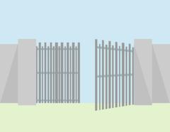 Alutech Распашные ворота алюминиевый профиль авт 3*1,5