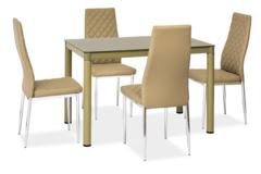 Обеденный стол Обеденный стол Signal Galant (темно-бежевый)