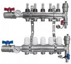 Комплектующие для систем водоснабжения и отопления Profline Коллектор XF 20102-6